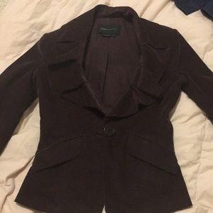 BCBG brown blazer